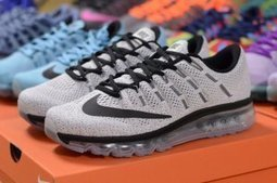 Nike Air Max 2016 Running Shoes Grey Black Unisex | Nike Running Shoes | Scoop.it
