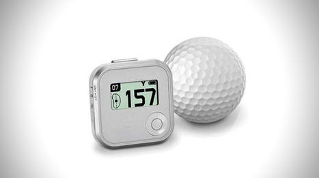 Distance Calculating Talking Golf Caddy | Mens Entertainment Guide | Scoop.it