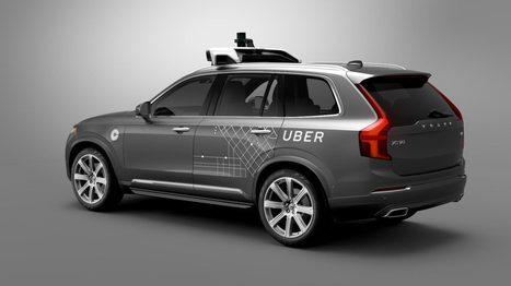 Uber met en circulation ses premiers taxis autonomes | Patient Hub | Scoop.it