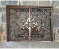 Fireplace Screens With Doors | custom iron gates texas | Scoop.it