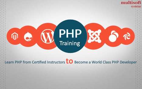 Professional PHP Training Course – Learn PHP from Certified Instructors to Become a World Class PHP Developer | industrial training | Scoop.it