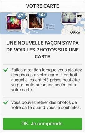 Vie privée : comprendre la carte de photos Instagram   Conseils web et communication   Scoop.it