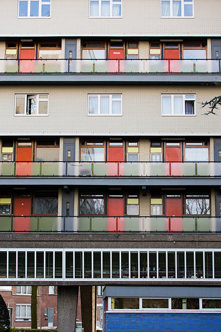 Social housing project Kiel by Renaat Braem  Belgiums MCM Architect