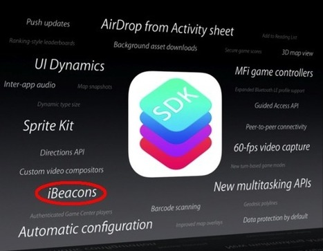 Avec iBeacon, Apple s'attaque frontalement au NFC | ibeacons | Scoop.it