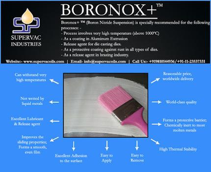 BORONOX+ Boron Nitride Suspension …   Supervac Industries   Scoop.it