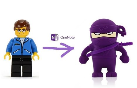 How to Turn a Teacher into a OneNote Ninja | Communications | Scoop.it