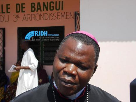 Centrafrique : Le Cardinal Dieudonné Nzapalainga au chevet des enfants du km5 - RJDH | Qu'elle tourne plus rond | Scoop.it