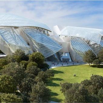 La Fondation Louis Vuitton s'apprête à inaugurer son vaisseau de verre | Architecture - Construction | Scoop.it
