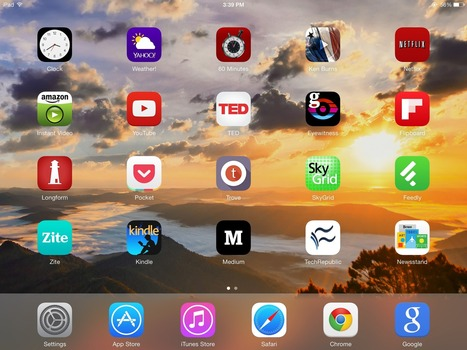Rethinking the iPad: A formula to make it useful if you're already savvy on a laptop and smartphone | Mobile Tablet Innovation | Scoop.it
