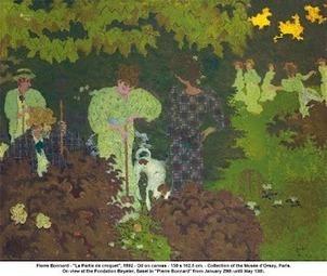 Painting by Pierre Bonnard 'La Patie de croquette' This is… | Fine Art at Google+ | Scoop.it
