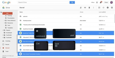 New Google Drive: Selecting Multiple Files | iGeneration - 21st Century Education | Scoop.it