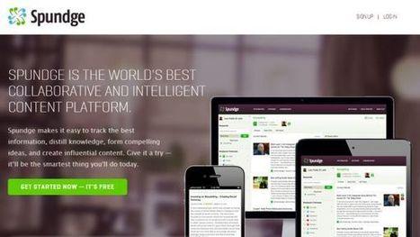 Spundge, herramienta de curación de contenidos para profesionales de la información | En las redes. | Scoop.it