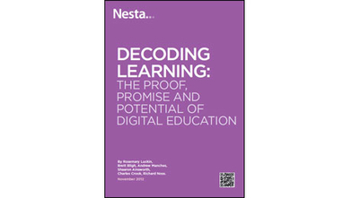"""The Proof, Promise, and Potential of Digital Education"" NESTA Report – Technology Enhanced Learning Blog 
