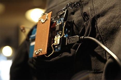 Una felpa smart, basata su Arduino che riconosce i movimenti (video) - PianetaTech | Arduino | Scoop.it
