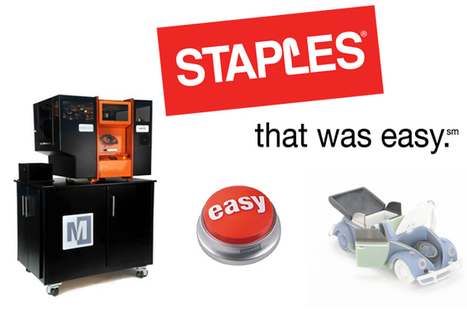 Staples retail store's has printer services, but they also print in 3D | This week in 3d printing | Scoop.it