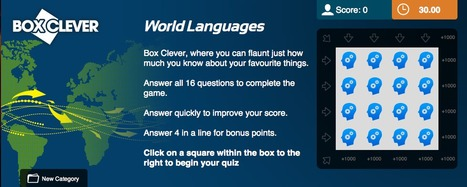 World Languages Quiz | Box Clever | QuizFortune | Quiz Related Biz - Social Quizzing and Gaming | Scoop.it