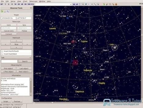 Cartes du ciel : votre atlas du ciel gratuit | CULTURE MARITIME | Scoop.it