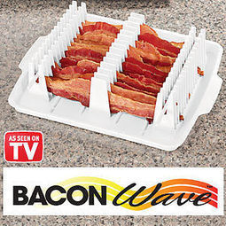 Bacon Wave Microwaveable Bacon Tray | As Seen on TV | Scoop.it