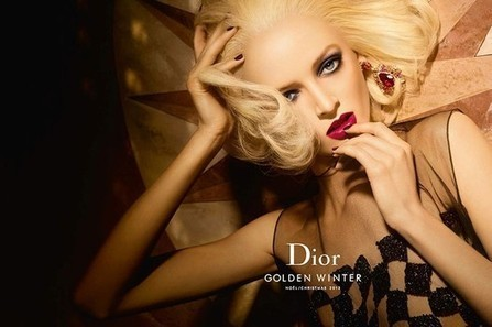 The Dior Golden Winter Makeup Collection for Holiday 2013 | Holiday Makeup | Scoop.it