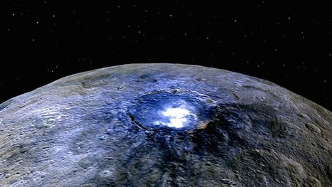 Ceres has subsurface water, salt rich white spots, and was likely formed in outer Solar System   natural sciences   Scoop.it