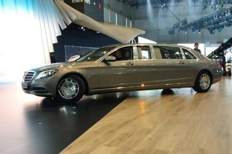 Mercedes-Maybach S600 Pullman Spotted - SpeedLux | Technology | Scoop.it