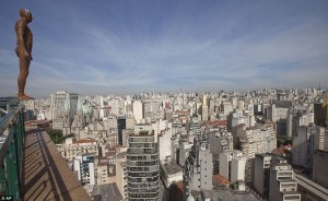 Anthony Gormley's 'Event Horizon', Sao Paulo | The Architecture of the City | Scoop.it