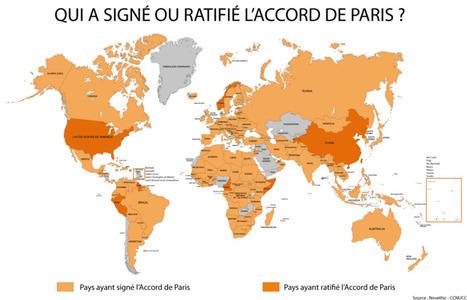 Climat : après la Chine, les Etats-Unis ratifient l'Accord de Paris | Développement durable et efficacité énergétique | Scoop.it