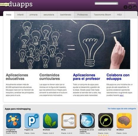 Educación tecnológica: EduApps: 3155 apps educativas catalogadas | Educación y Tecnologías | Scoop.it