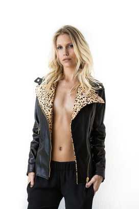 Hot Fashion - Olympia Biker Leather Jacket for Women | Best of Fashion 2013 | Scoop.it