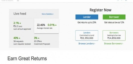 Singapore's M&S Partnerts invests $250K in P2P lending marketplace Faircent | P2P and Social Lending: Global Trends | Scoop.it