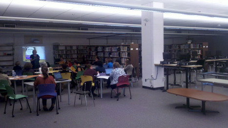 """A pic of the new John Oliver """"Learning Commons"""" ful... on Twitpic   InformationFluencyTransliteracyResearchTools   Scoop.it"""