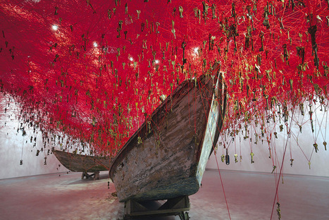 Chiharu Shiota: The Key in the Hand | Art Installations, Sculpture, Contemporary Art | Scoop.it