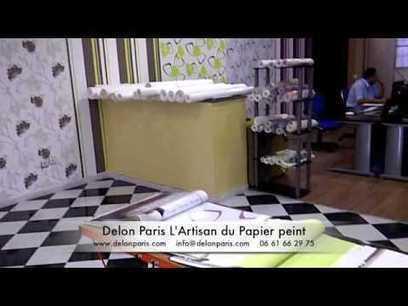 Delon Paris #papierpeint #Maroc #Rabat #Meknès #Casablanca #Marrakech #Agadir #décoration #Design   Papier Peint Rabat   Scoop.it