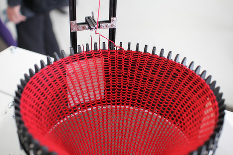 Taller de Knitic: Construye tu propia máquina de tejer | Formación y talleres | Ultra-lab | Creatividiario: recursos, inspiración y motivación para creadores en la web | Scoop.it