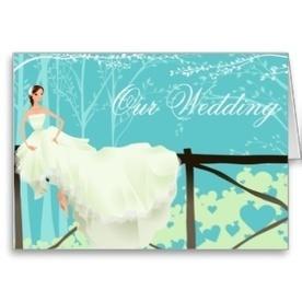 Blue Wedding Invitation   Adriane Designs   Scoop.it