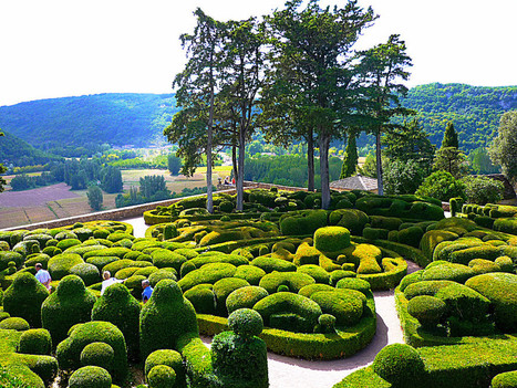 Beautiful Gardens At The Dordogne Valley In Perigord, France | Hotel Dordogne near Bergerac and Sarlat | Scoop.it