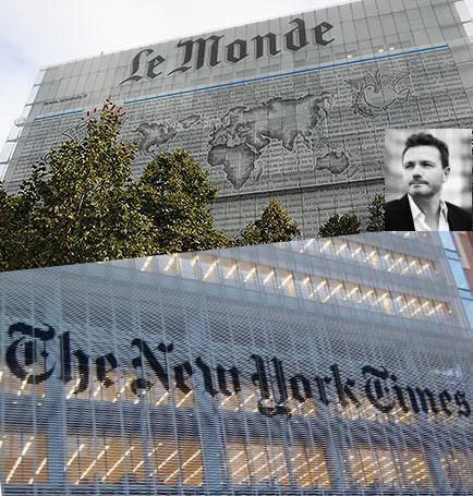 Cette semaine où Le Monde et le New York Times ont été décapités | Flux événementiels | Scoop.it