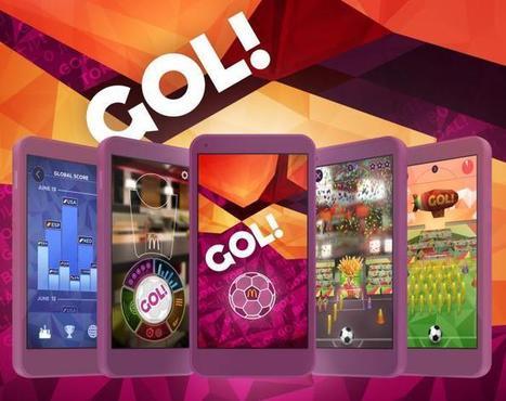 Gol : l'application Foot en réalité augmentée débarque chez McDonald's | Born to be online | Scoop.it