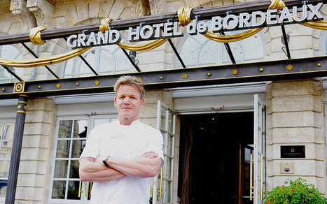 Gordon Ramsay to serve English wine in Bordeaux restaurant: 'We haven't had a riot yet'   Urban eating   Scoop.it