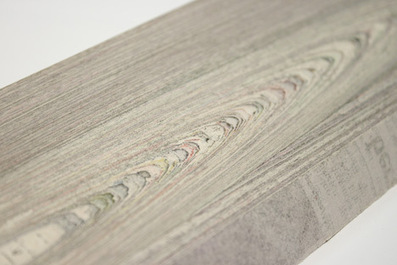 NewspaperWood by Mieke Meijer and Vij5 - Dezeen | marque-page | Scoop.it