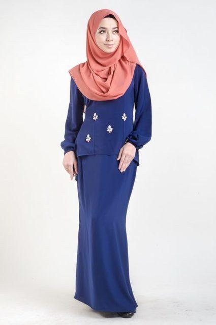Baju Kurung Moden Dengan Beads (Manik) - LovelySuri | Kuala Lumpur Tourism Related Info & News | Scoop.it