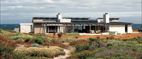 Superbe villa contemporaine de front de mer en bois en Afrique du sud   Construire Tendance   Scoop.it