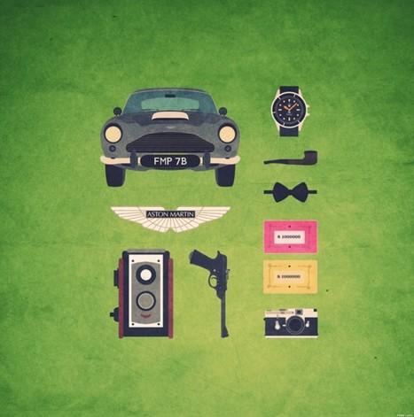 PHOTOS. Cinéma: Pulp Fiction, Mad Men et James Bond en kit - Le Huffington Post | Photo my design | Scoop.it