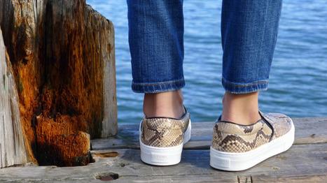 eat, sleep, denim blog: Trend: Denim and Slip On Sneakers | thejeangirlshop | Scoop.it