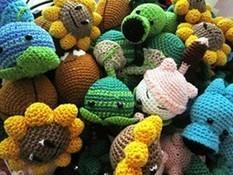 PATTERNS - Plants versus Zombies dolls! | deadcraft - Patterns on ArtFire | Crochet patterns | Scoop.it