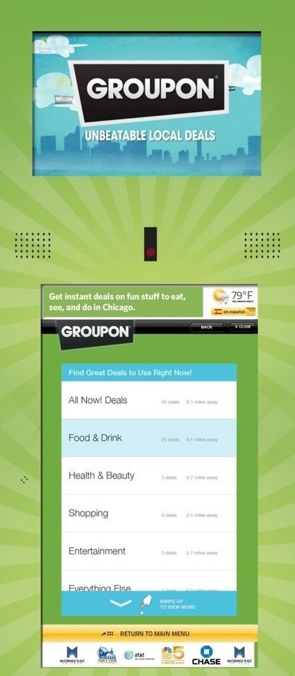 Groupon with Getaways goes bricks and mortar with kiosks   Tnooz   HotelOnlineMarketing   Scoop.it