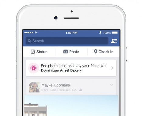 Facebook Makes Retail Beacons Available for Free | Google Places, Geomarketing y LBS | Scoop.it