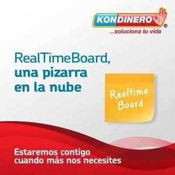 Real Time Board - Una pizarra en la nube | Kondinero | Scoop.it