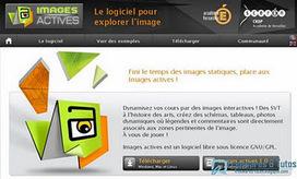 Images Actives : un logiciel libre pour utiliser des images de manière interactive | Time to Learn | Scoop.it