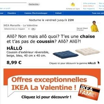 IKEA s'empare du Allo de Nabilla   graphisme-webdesign   Scoop.it